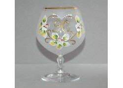 Jubilee Glass Carmen 90 years white www.sklenenevyrobky.cz