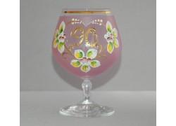 Jubilee Glass Carmen 90 years pink www.sklenenevyrobky.cz