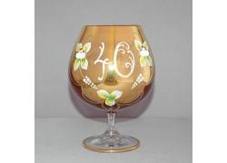 Výroční sklenice Natálie na koňak 40 Rubín 400 ml