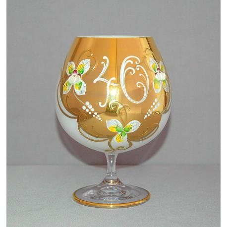 Výroční sklenice Natálie na koňak Opál 400 ml