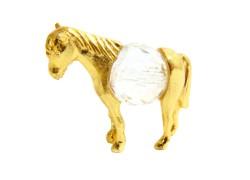 Pewter horse figurine www.sklenenevyrobky.cz