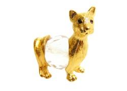 Tin figurine cat mini www.sklenenevyrobky.cz