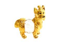 Tin figurine dog mini www.sklenenevyrobky.cz