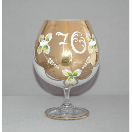 Výroční sklenice Natálie na koňak 70 Opál 400 ml
