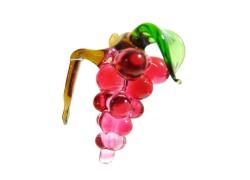 Grape wine, hanging decoration on a glass www.sklenenevyrobky.cz