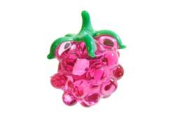 Raspberry, hanging decoration on a glass www.sklenenevyrobky.cz