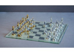 Cut glass chess 500/14 18x18 cm