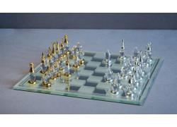 Skleněné šachy 500/14 broušené 18x18 cm