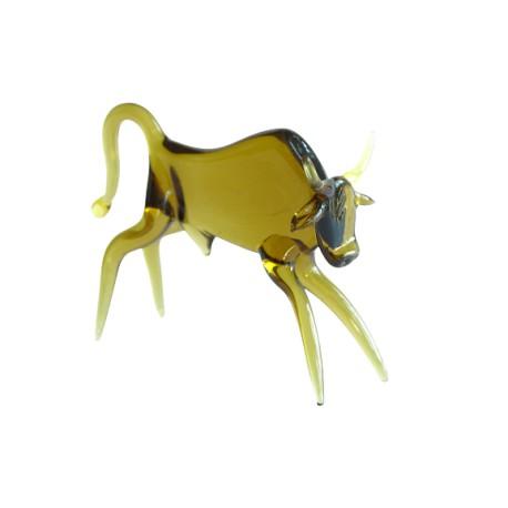 Taurus - zodiac sign from glass www.sklenenevyrobky.cz