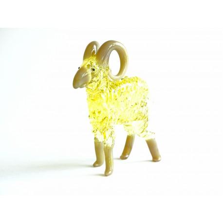 Aries - zodiac sign from glass www.sklenenevyrobky.cz