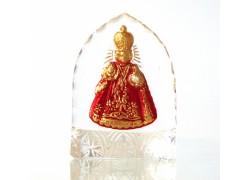 Pražské Jezuliatko zo skla