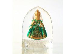 Infant Jesus of Prague from glass www.sklenenevyrobky.cz
