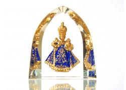 Pražské Jezulátko velké modré 5,5x6cm