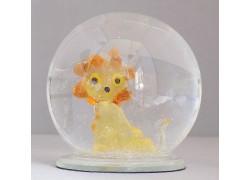Sněžící koule Lev II 10 cm