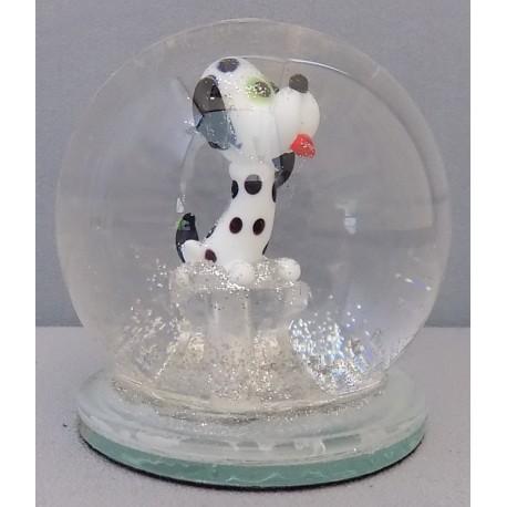 Sněžící koule dalmatin 60 mm