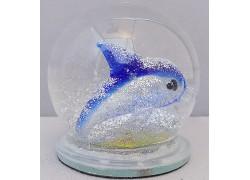 Sněžící koule delfínek 60 mm