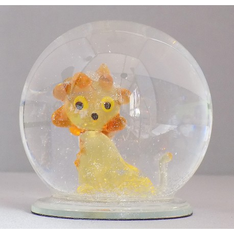 Sněžící koule lev 60 mm