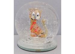 Sněžící koule lvíče 60 mm