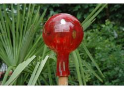 Plotová koule z hutního skla 12cm X.