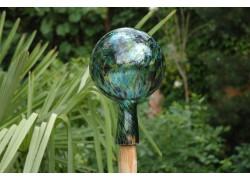 Plotová koule z hutního skla 12cm XII.