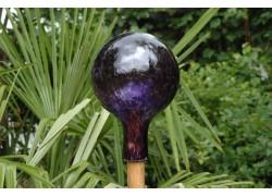 Fence glass balls 15cm www.sklenenevyrobky.cz