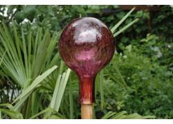 Plotová koule z hutního skla 15cm XI.