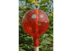 Plotová koule z hutního skla 20 cm IV.