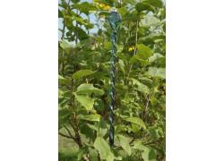 Glass Garden Spiral 45cm - green blue www.sklenenevyrobky.cz