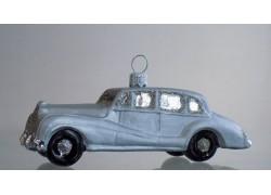 Vánoční ozdoba, auto Rolls Royce www.sklenenevyrobky.cz