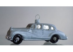 Weihnachtsdekoration, Rolls Royce Auto www.sklenenevyrobky.cz