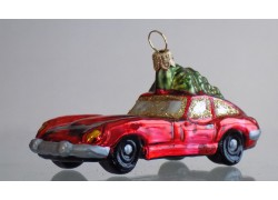Jaguár s vánočním stromkem 521b