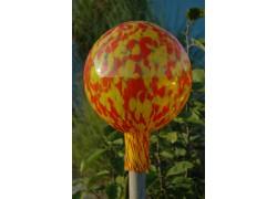 Fence Glass Ball 20cm www.sklenenevyrobky.cz