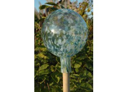 Plotová koule z hutního skla 20cm IX
