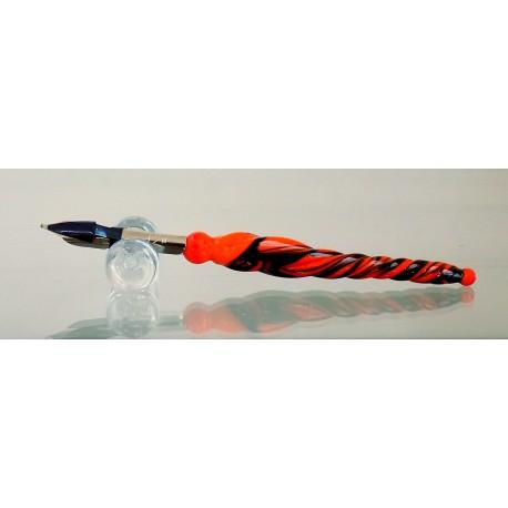 Skleněné psací pero malé 12cm s ministojánkem VIII