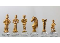 Šachy velké Anglické 32x32 cm