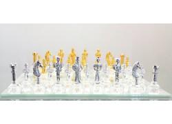 Šachy Gotika Anglie a Skotsko 30x30 cm