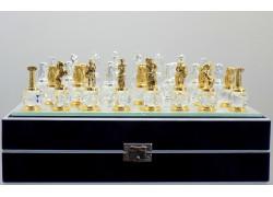 Šachy Antika - Řecko 25x25cm