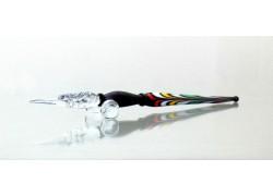 Písacie pero zo skla 15-18cm