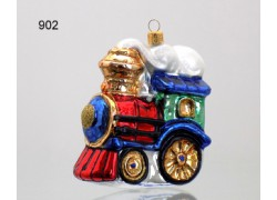 Christmas ornament Train with fairy smoke