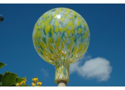Plotová koule z hutního skla 20 cm X