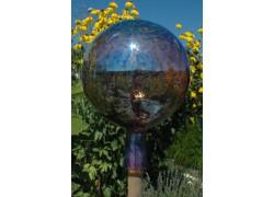 Plotová koule z hutního skla 20 cm XI