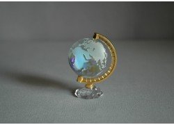 Globus 40mm crystal-AB,výška 7cm