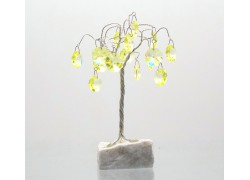 Happiness tree with crystal trimmings, citrine www.sklenenevyrobky.cz