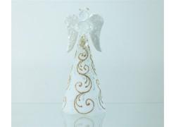 Skleněný anděl velký 15 cm 51.