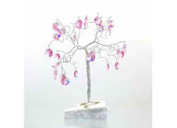 Happiness tree with crystal rose trimmings