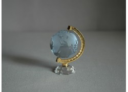 Globus 40mm vodní modř ,výška 7cm