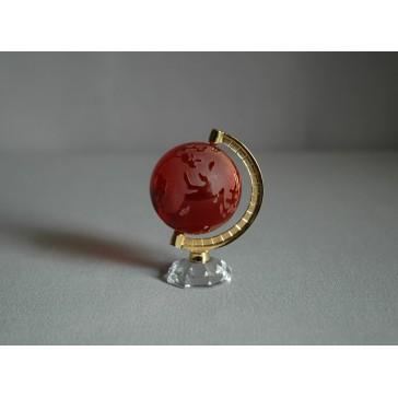Globus 40mm rubín