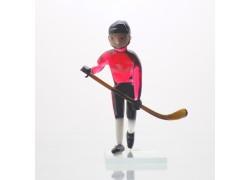 Ice hockey player 11 cm team Canada www.sklenenevyrobky.cz