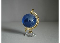 Globus 50mm modrá,výška 9cm