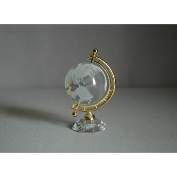 Globus 50mm crystal-AB www.sklenenevyrobky.cz